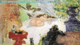Reclining Nudes in Post-Impressionist Art
