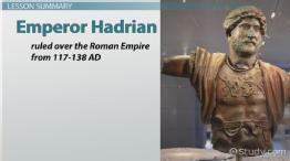 Emperor Hadrian of Rome: Facts, Biography & Accomplishments