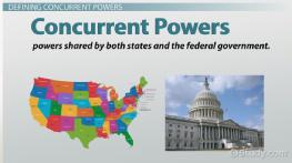 Concurrent Powers: Definition & Examples