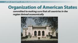 History of the Pan-Americanism Movement