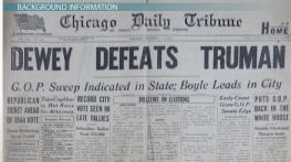 Truman vs Dewey: The Election of 1948