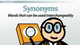 What Are Synonyms & Antonyms? - Definition & Examples
