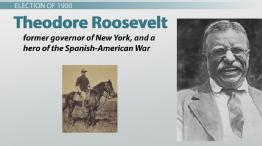 Roosevelt & the Progressives from 1900 to 1912