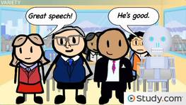 Selecting Relevant Support for Your Speech