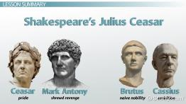 Shakespeare's Julius Caesar: Character Analysis & Traits