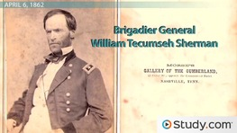 The Battle of Shiloh: Conflict, Outcome & Generals Involved