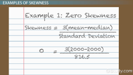 Skewness in Statistics: Definition, Formula & Example