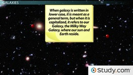 Solar System, Galaxy, & Universe: Definitions & Difference