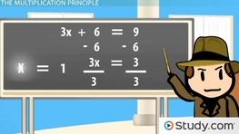 Solving Equations Using Both Addition and Multiplication Principles