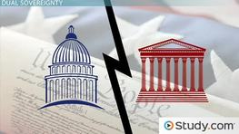 Sovereignty in the American Political System: Definition & History