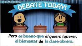 Spanish Practice Activity: Conversations with Political Candidates