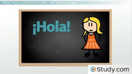 Spanish Greetings and Phrases in Conversation: Listening Activity