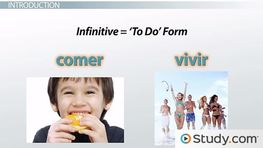 Common -ER and -IR Verbs in Spanish