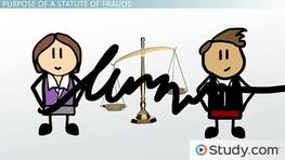 Statute of Frauds Contracts: Definition & Purpose