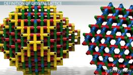 Crystal Lattice: Definition & Structure