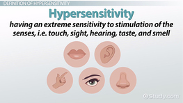 What Is Hypersensitivity in Children? - Definition, Causes & Types