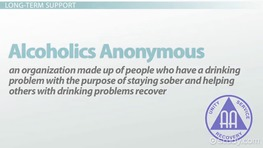 Support Programs & Groups for Alcoholism