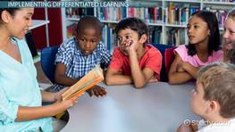 Steps in Implementing Differentiated Instruction