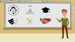 Jobs & Occupations Vocabulary for ESL: List & Exercises
