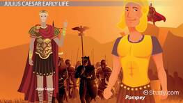Julius Caesar Lesson for Kids: Facts & Biography