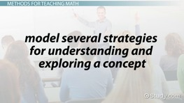 Teaching Math: Methods & Strategies