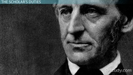 The American Scholar by Ralph Waldo Emerson: Summary & Analysis