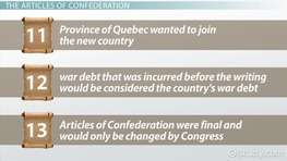 The Articles of Confederation: Summary & Analysis
