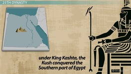 The Kingdom of Kush: Location, Events & Leaders