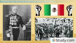 The Mexican Revolution: Causes & Initial Events