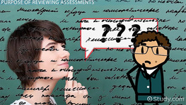 The Process of Reviewing Educational Assessments