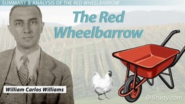 The Red Wheelbarrow By William Carlos Williams: Summary, Theme & Analysis