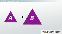 The Transitive Property of Similar Triangles