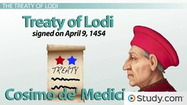 The Treaty of Lodi: Borders, Peace & Balance of Power