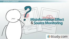 The Misinformation Effect and Eyewitness Accounts