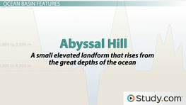 Ocean Basins: Definition, Formation, Features & Types