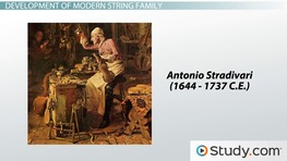 The String Family: Instruments, History & Facts