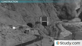 The Construction of the Hoover Dam: History of Events