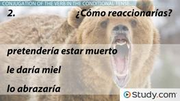 Using the Conditional Tense in Spanish