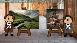 Comparing Romantic Painting in Europe & America