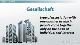 Tonnies' Critique of Modernity