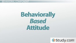 The ABC Model of Attitudes: Affect, Behavior & Cognition