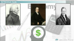 The Economists: Adam Smith, David Ricardo & Thomas Malthus