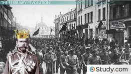 The Russian Revolution: Timeline, Causes & Effects