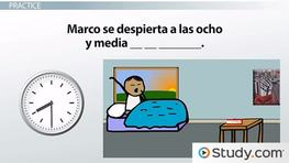 Spanish Vocabulary for Time of Day: Morning, Afternoon & Evening