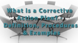 What is a Corrective Action Plan? - Definition, Procedures & Examples