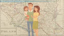 The Push & Pull Factors of Human Migration