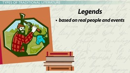 Traditional Literature: Definition, Characters, Types & Books