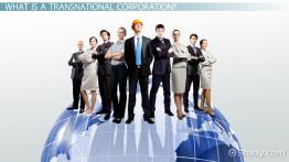 Transnational Corporation: Definition & Examples