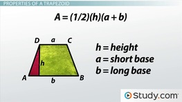 Trapezoid: Definition, Properties & Formulas