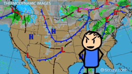 Types of Weather Maps & Images